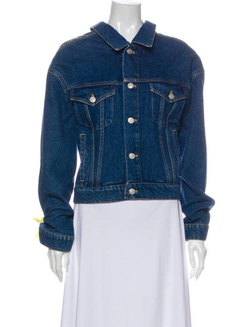 Balenciaga 2016 Denim Jacket Denim