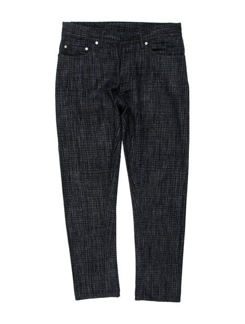 Balenciaga Printed Pants Blue