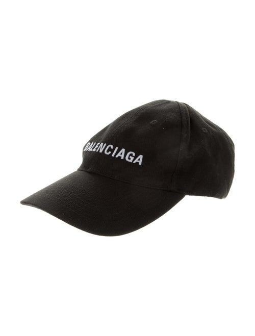 Balenciaga Archetype Logo Baseball Cap Black