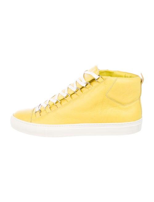 Balenciaga Arena Sneakers Yellow