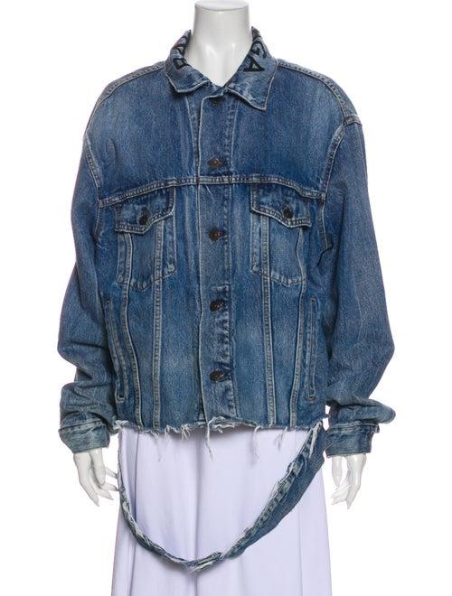 Balenciaga 2017 Denim Jacket Denim