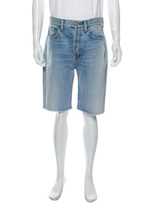 Balenciaga Denim Shorts Denim