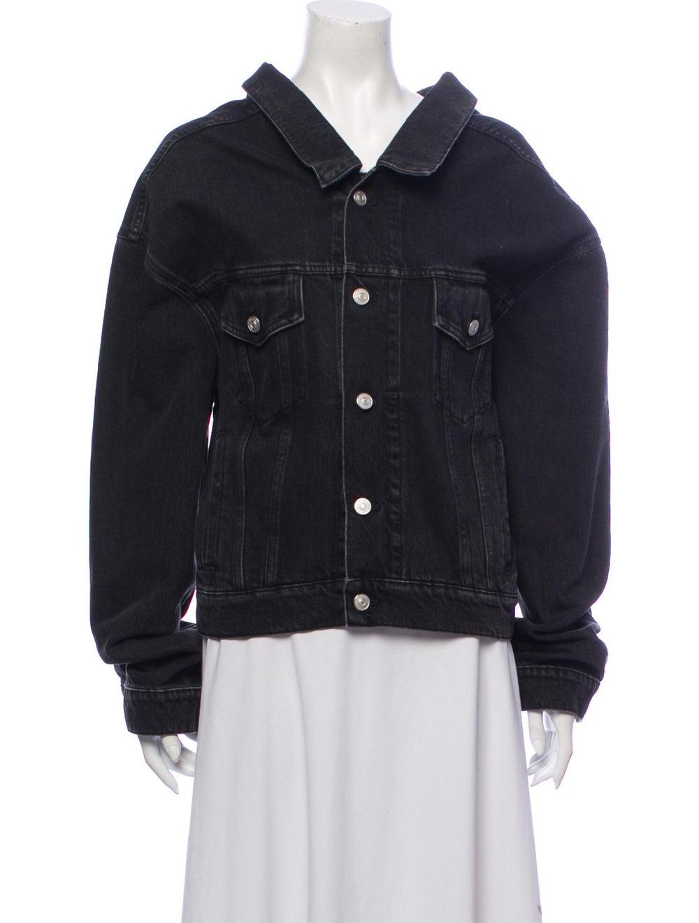 Balenciaga Denim Jacket Denim - image 1