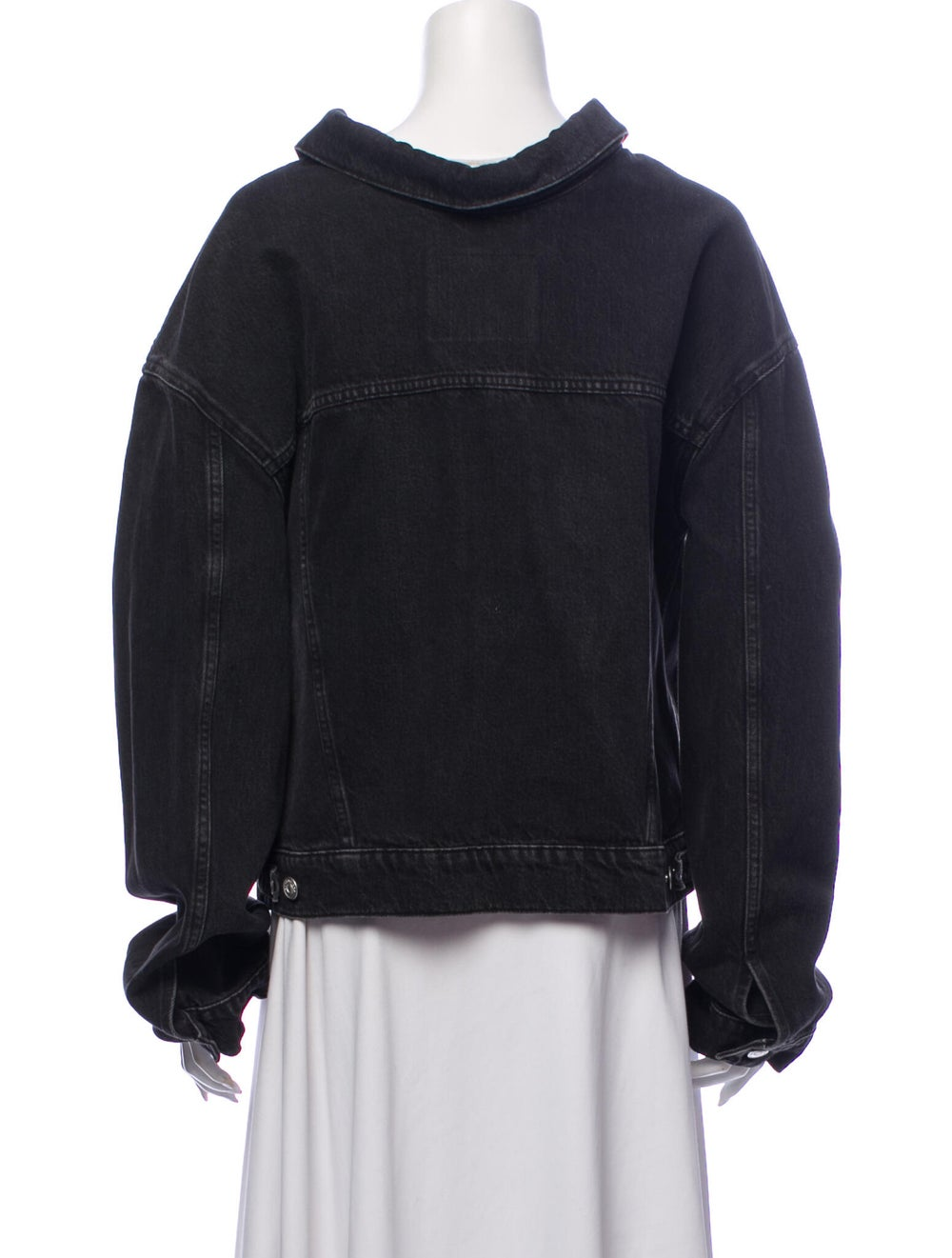 Balenciaga Denim Jacket Denim - image 3