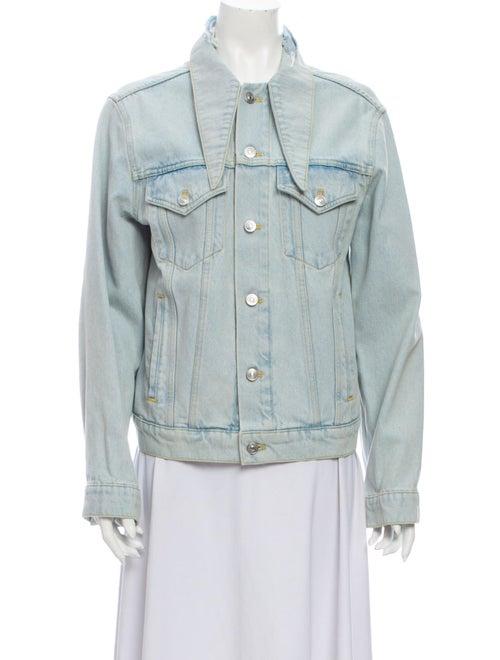 Balenciaga 2017 Denim Jacket Denim - image 1