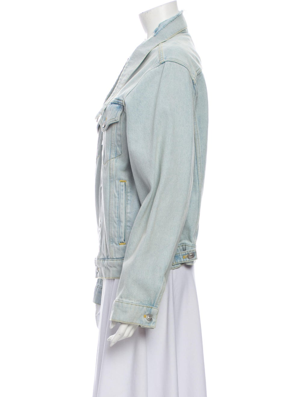 Balenciaga 2017 Denim Jacket Denim - image 2