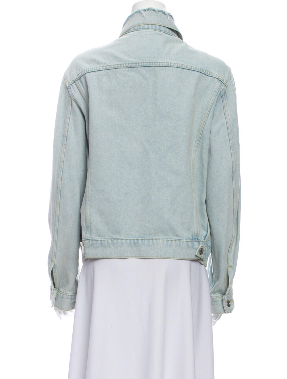Balenciaga 2017 Denim Jacket Denim - image 3