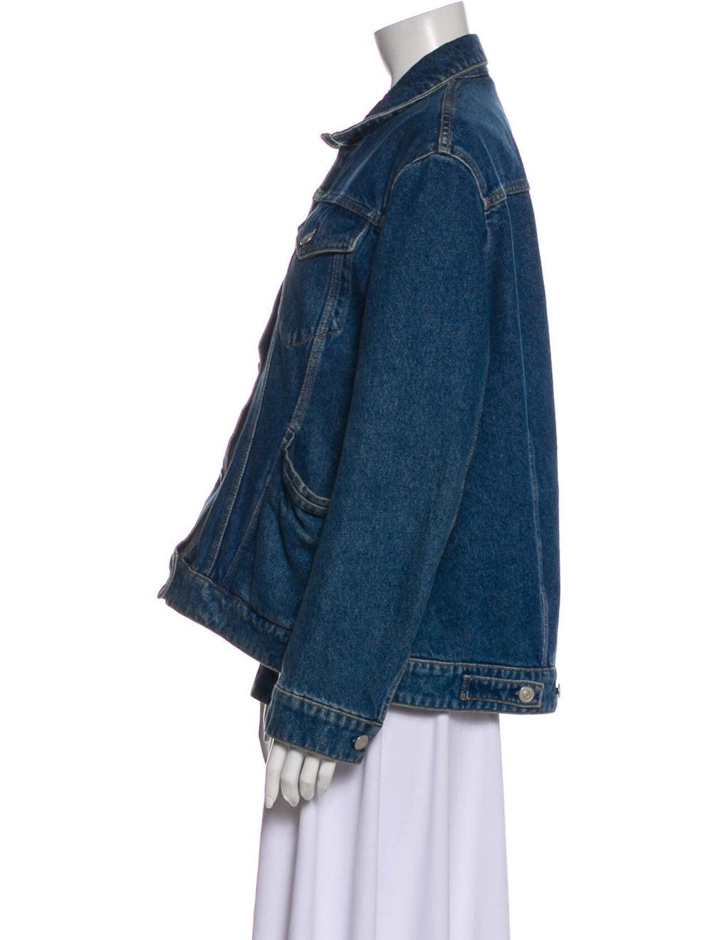 Balenciaga 2019 Denim Jacket Denim - image 2