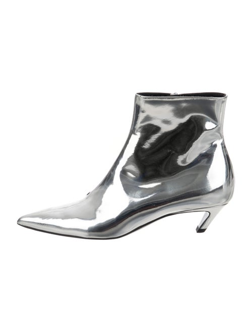 Balenciaga Mirror Knife Leather Boots Leather Boot