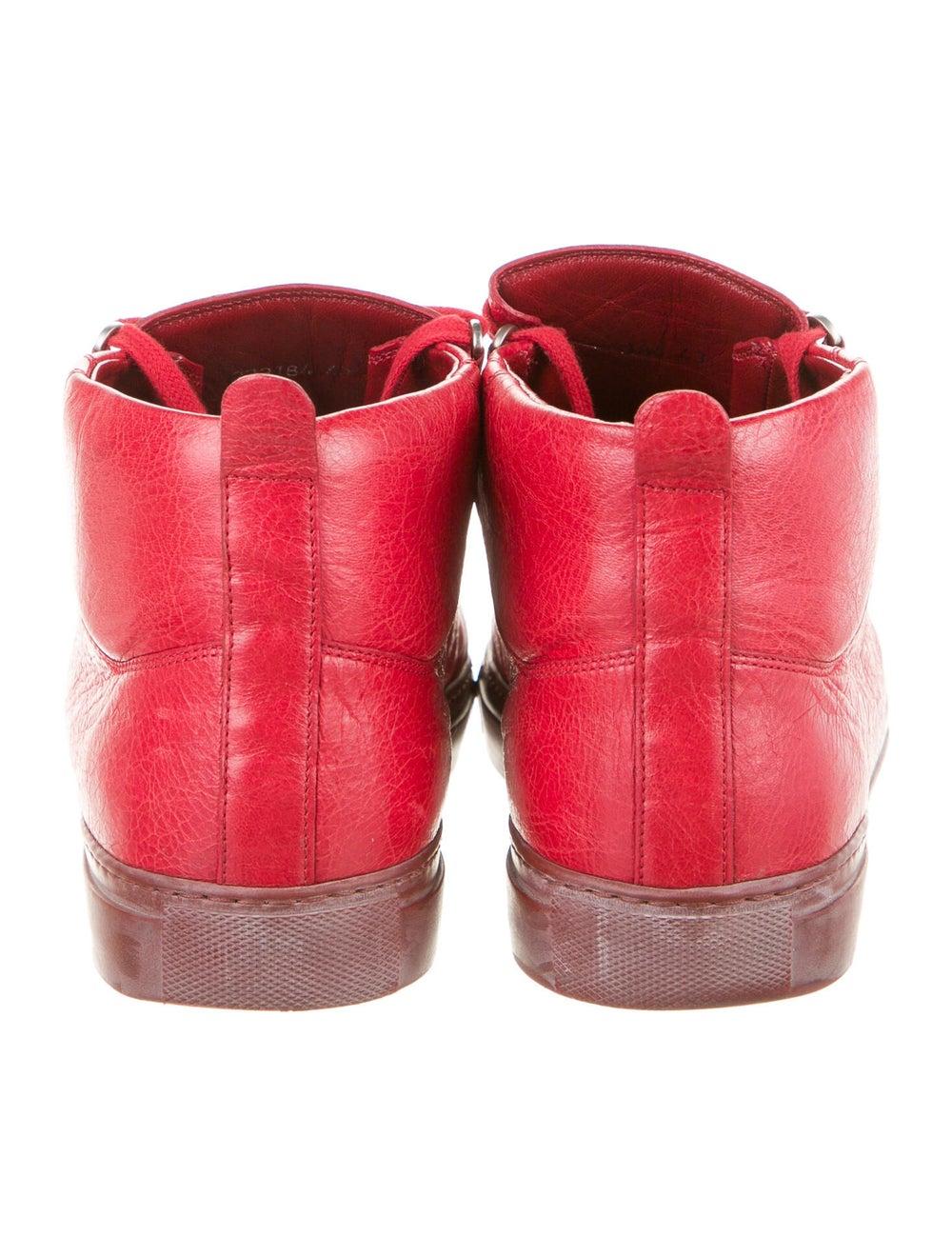 Balenciaga Arena Sneakers Sneakers Red - image 4