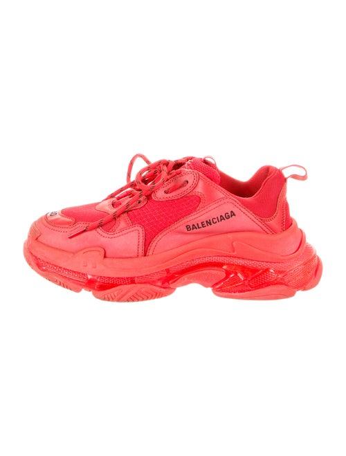 Balenciaga Triple S Chunky Sneakers Red