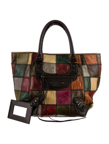 Motocross Patchwork Sunday Tote