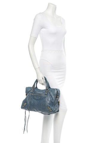 Perforated City Bag