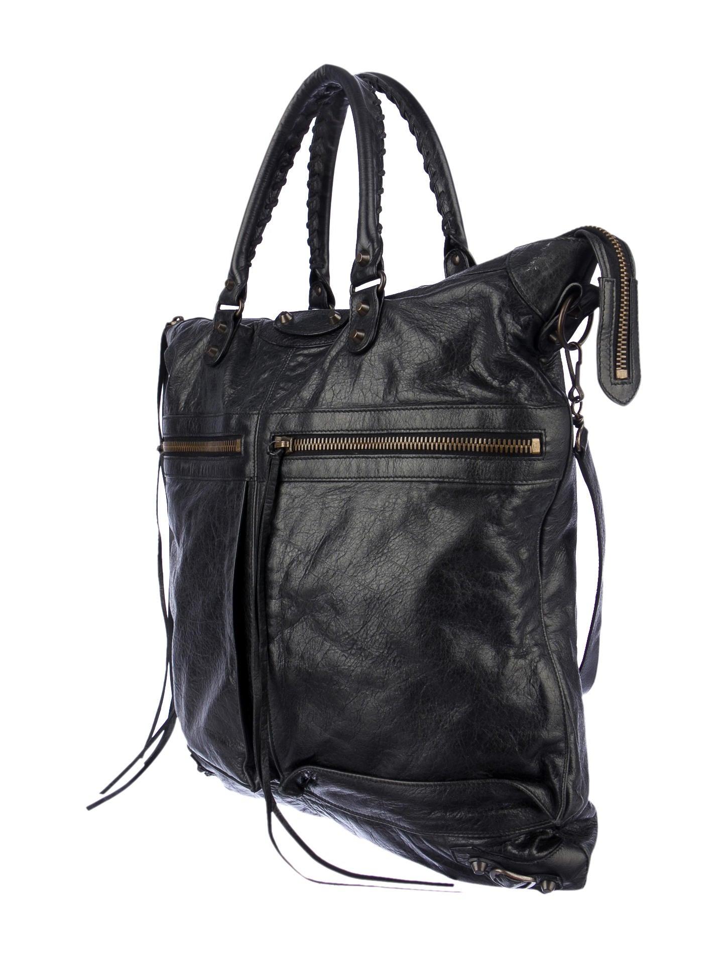 f91f3a87cf Balenciaga Motocross Classic Square Bag - Handbags - BAL24609 | The ...