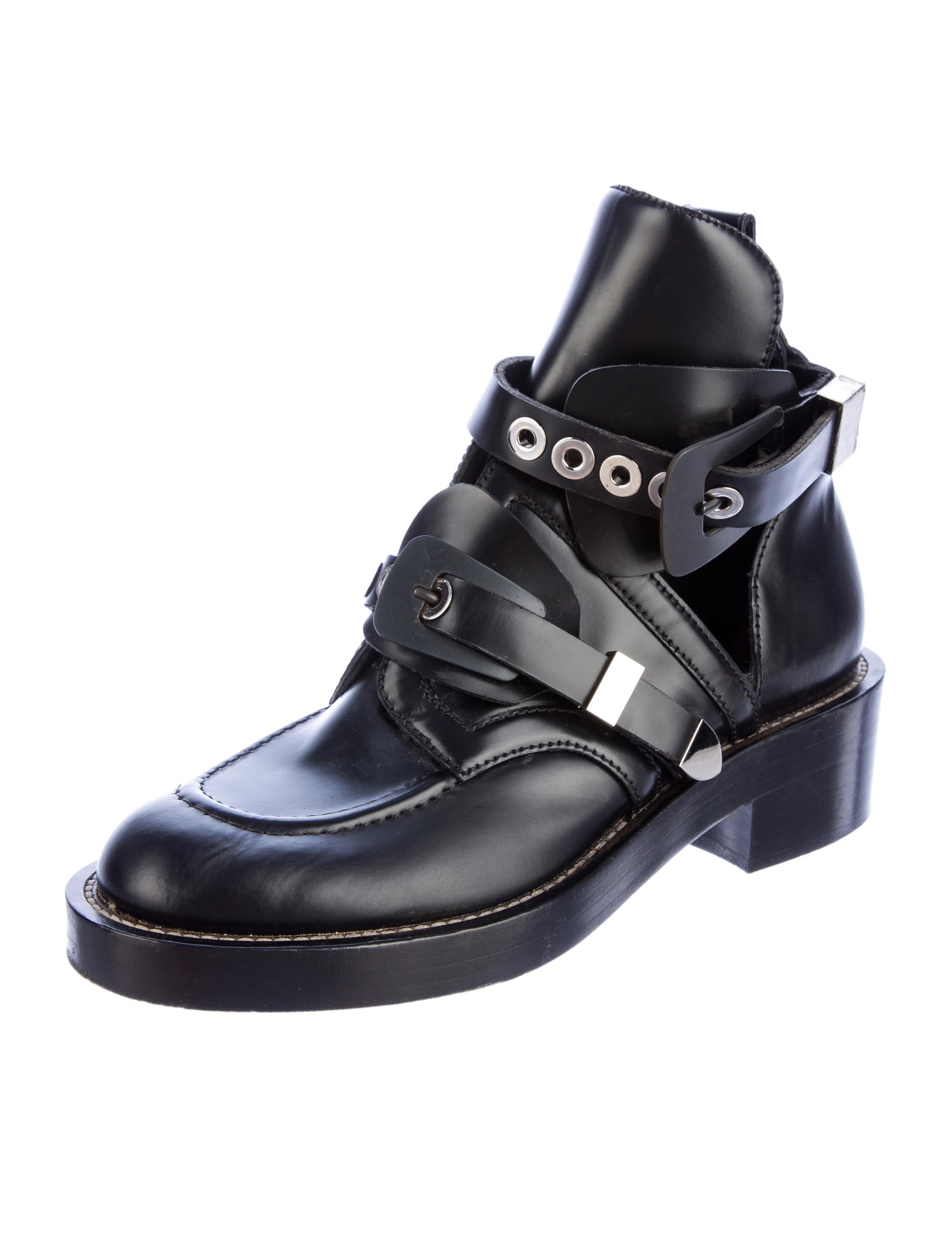 Balenciaga Ceinture Ankle Boots - Shoes - BAL26608 | The ...
