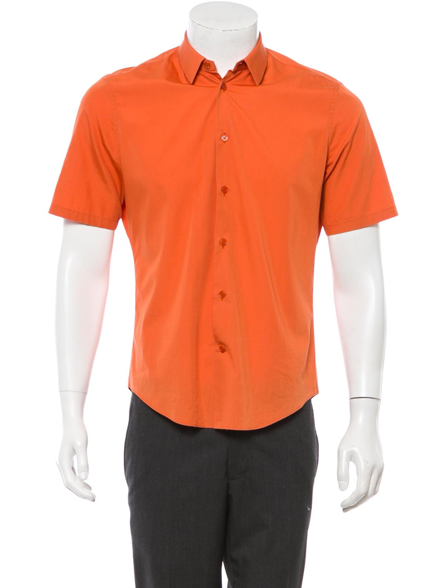 balenciaga short sleeve button up shirt clothing