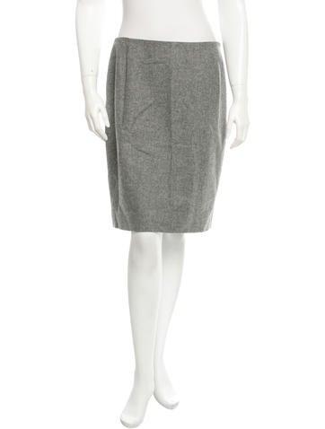 Balenciaga Wool Skirt None