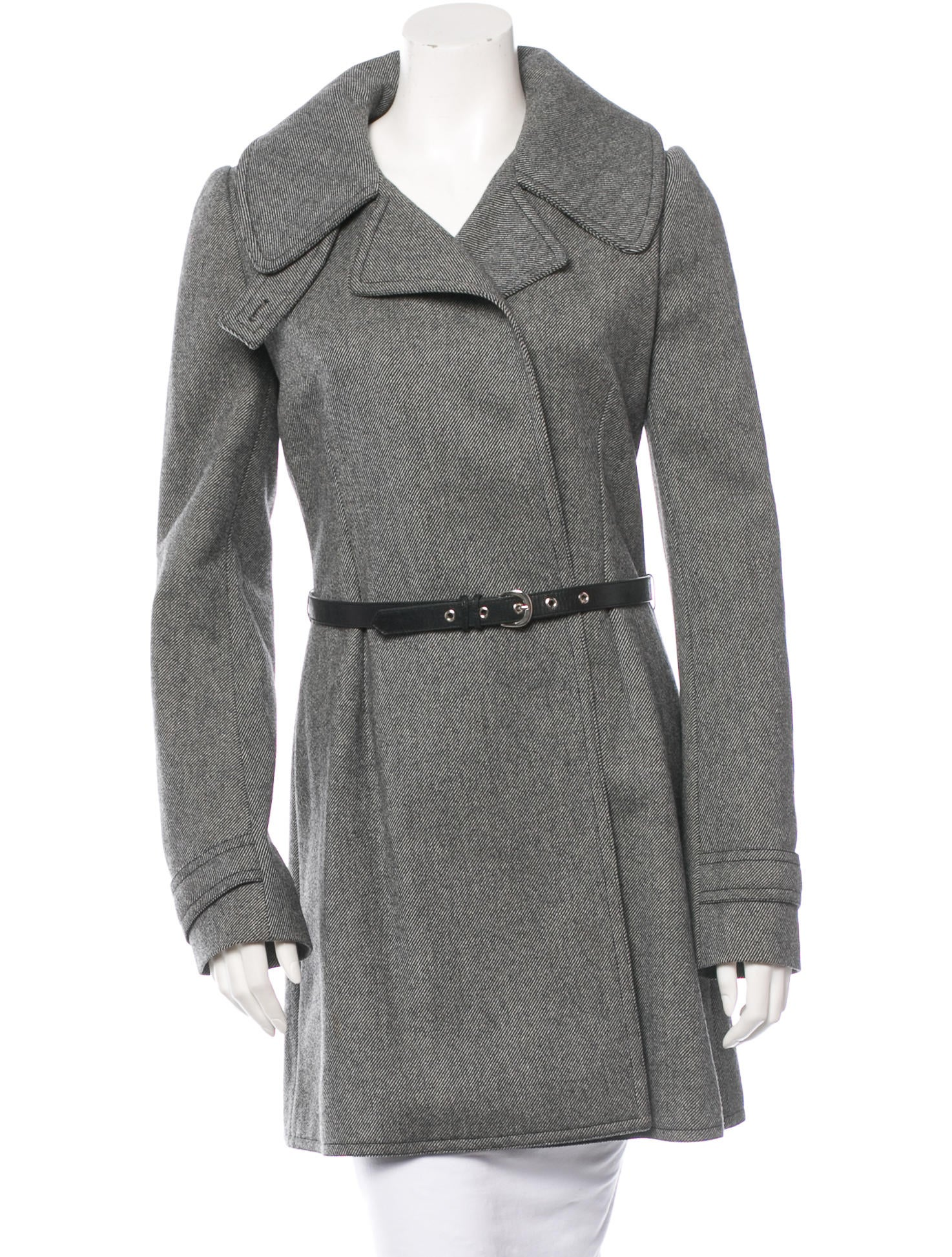 8ba520fd86c6 Balenciaga Women s Wool Coat Apricot
