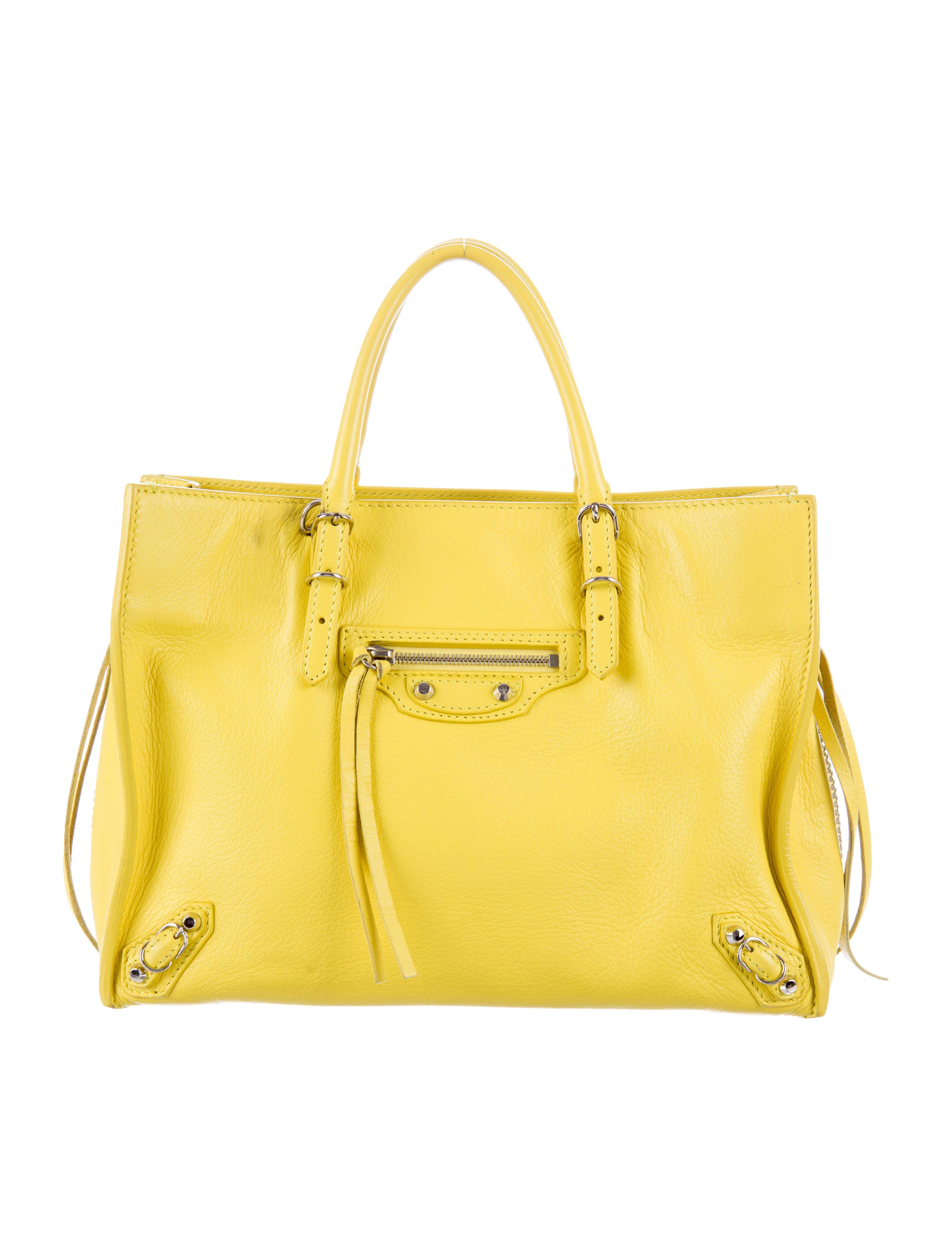 368abbffbc63 Balenciaga Mini Papier A4 Zip Around Crossbody Bag - Handbags ...
