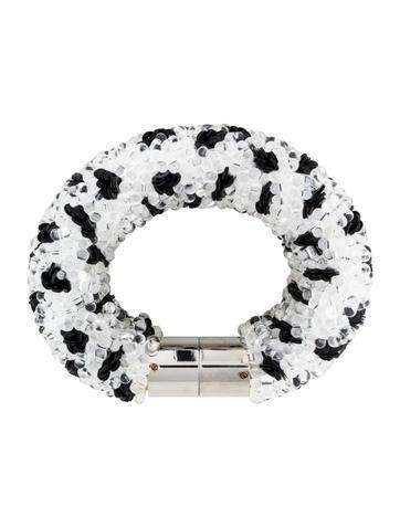 balenciaga raindrop beaded bracelet bracelets bal33625