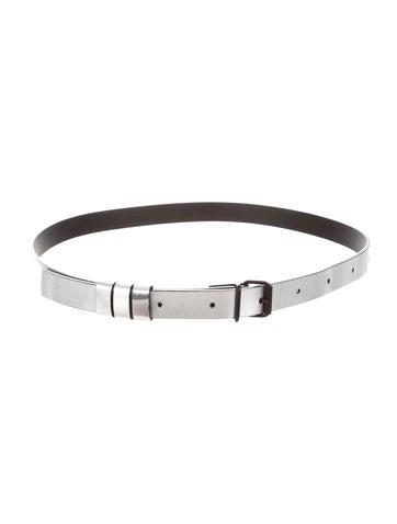 Metallic Waist Belt