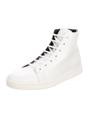 Balenciaga Fall 2015 High-Top Leather Sneakers w/ Tags ...