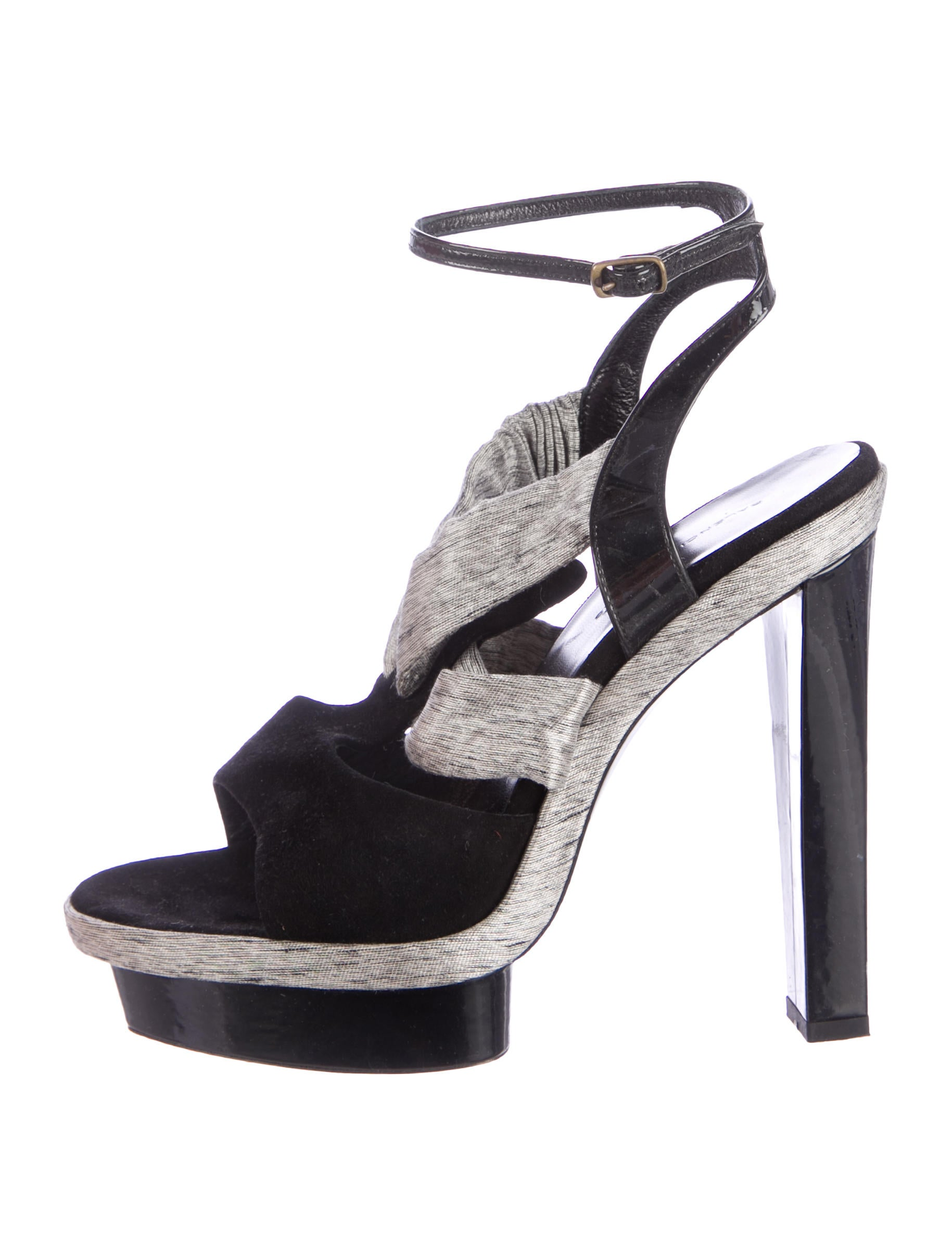 Shop ankle strap platform shoes at Neiman Marcus, where you will find free shipping on the latest in fashion from top designers.