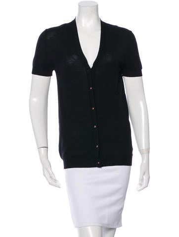 Balenciaga Wool Button-Up Cardigan None