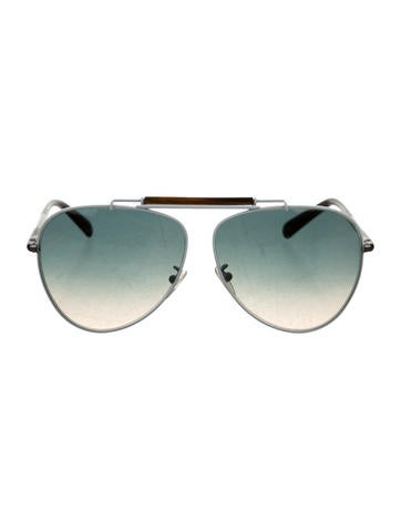 Balenciaga Tinted Aviator Sunglasses