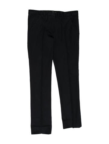 Balenciaga Cropped Straight-Leg Pants w/ Tags