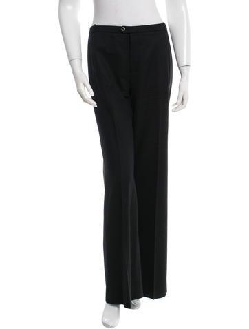 Balenciaga Wool Wide-Leg Pants