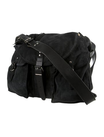 Suede Sac Messenger Bag