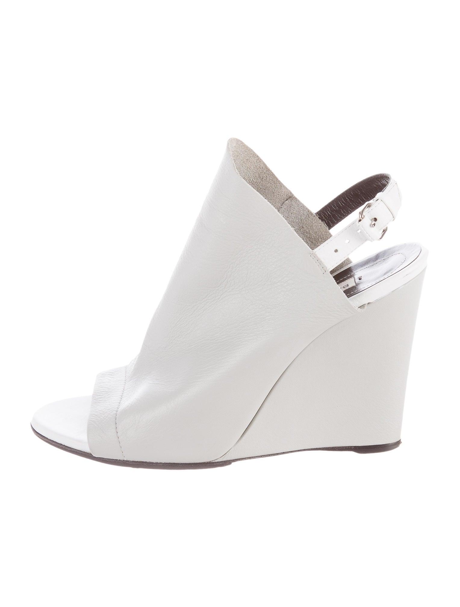 balenciaga glove wedge sandals shoes bal40731 the
