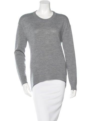 Balenciaga Virgin Wool Cashmere-Blend Sweater w/ Tags None