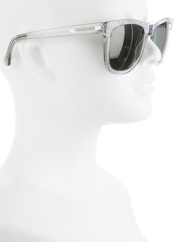 Translucent Wayfarer Sunglasses