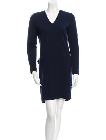 Balenciaga Wool Mini Dress None