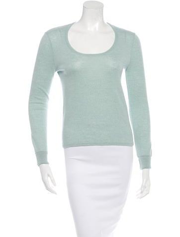 Balenciaga Long Sleeve Wool Top None