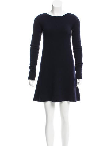 Balenciaga Wool Sweater Dress None
