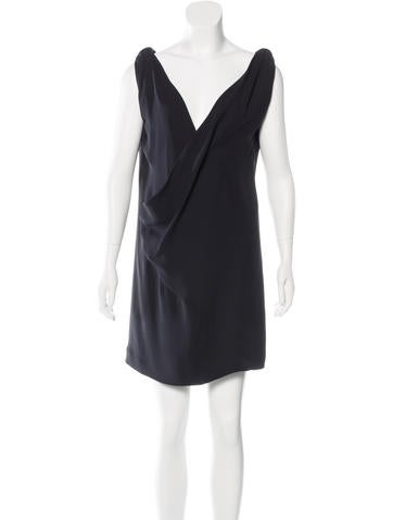 Balenciaga Sleeveless Shift Dress None