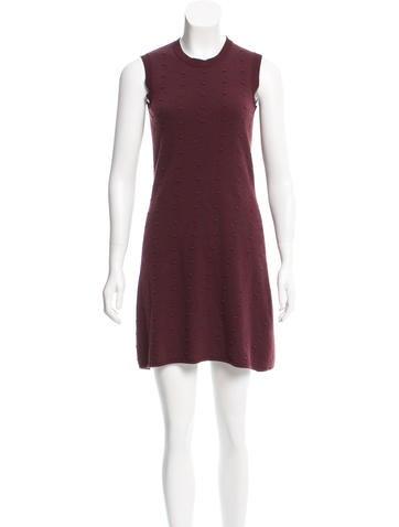 Balenciaga Wool Mini Dress None