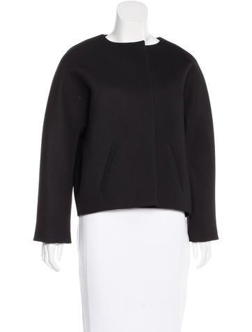 Balenciaga Wool Open Front Jacket w/ Tags