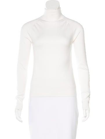 Balenciaga Fall 2015 Wool Top None