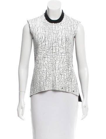 Balenciaga Wool Crackly Top None