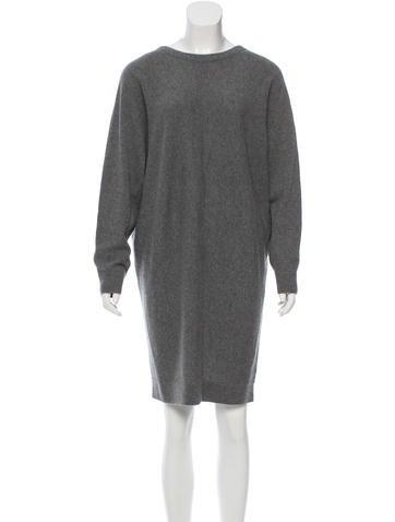 Balenciaga Cashmere Sweater Dress None