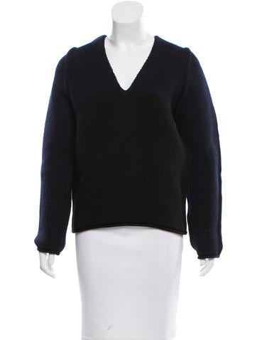 Balenciaga Wool Colorblock Sweater None