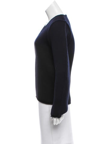 Wool Colorblock Sweater