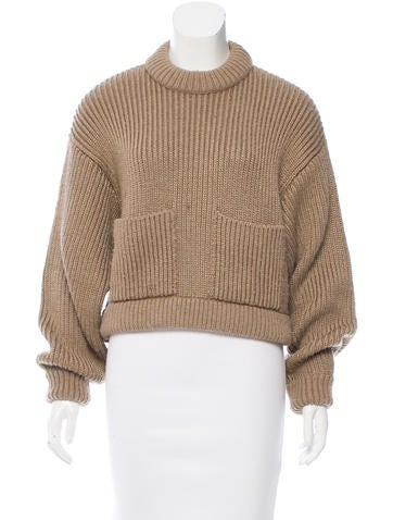 Balenciaga Oversize Wool-Blend Sweater None