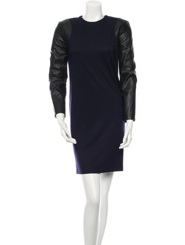 Balenciaga Wool Dress None