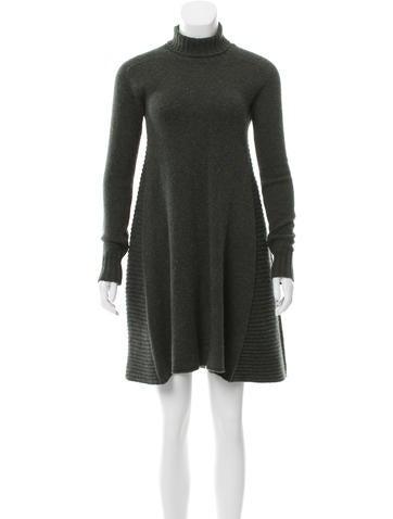 Balenciaga Wool A-Line Dress None
