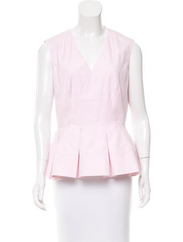 Balenciaga 2016 Peplum Top w/ Tags None